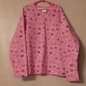 Hanes Her Way Girl's Sweatshirt Size Large 10/12